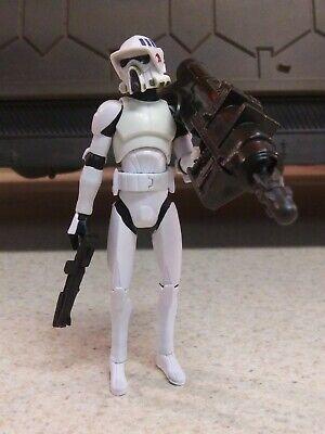 Star Wars 501st ARF Trooper Clone Wars Hasbro 2009 Original Weapons