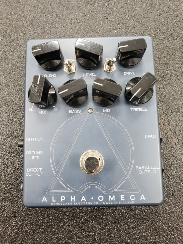 Darkglass alpha omega