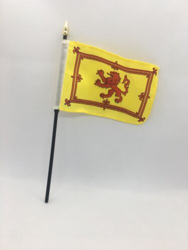 Scotland Royal Lion Rampant Mini Flag