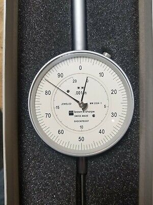 Brown And Sharpe Dial Indicator .001