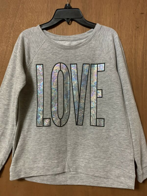 Cute Justice Girls Sweatshirt- Size 14/16