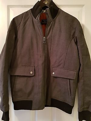 Mens grey and black jacket/coat