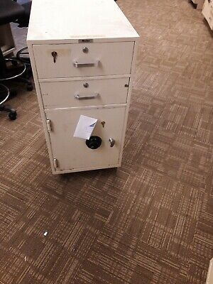 Mosler Safe Locking File Cabinet With Dail Lock