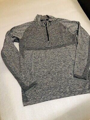 Nike Running Top Size XL Dri Fit Grey