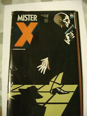 Mister X, Volume 1 Number Four, Vortex Comics, May 1985