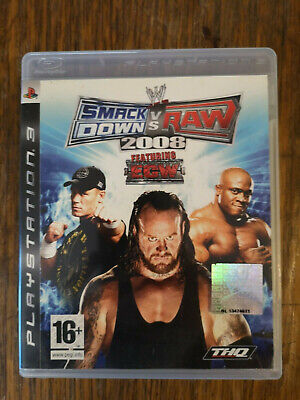 Smackdown vs. Raw 2008 (PS3) tested working for sale  Shipping to Nigeria