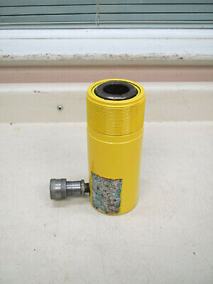 Enerpac Rc-254 4 Stroke 25 Ton 10000 Psi Single Acting Hydraulic Cylinder Used