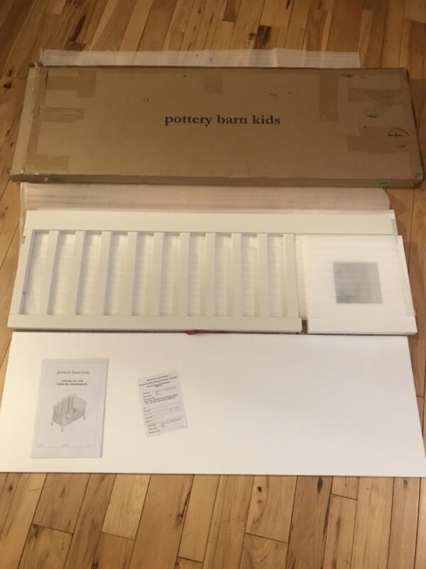 Pottery Barn Kids Catalina 3 In 1 Crib Guard Rail Conversion Kit NIB