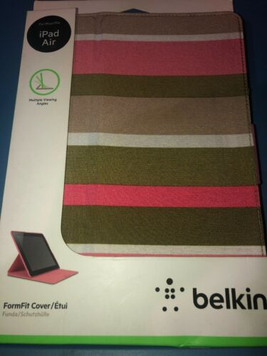 NEW Original Belkin Form Fit Cover / Case With Stand for iPa