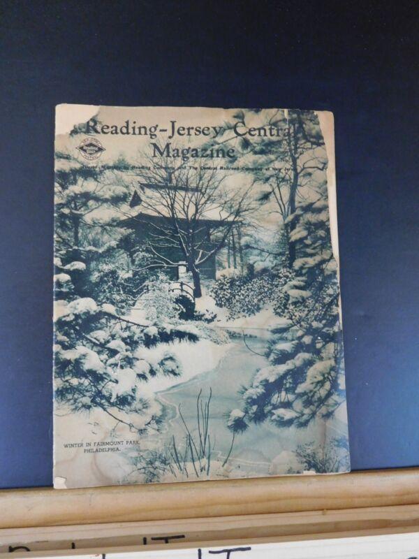 Reading-Jersey Central Magazine Vol.4 January 1940 No.8 Employee