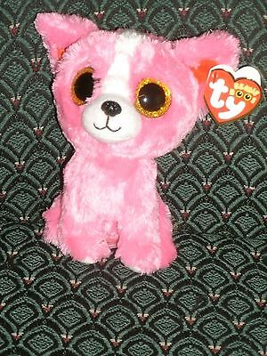 Ty Beanie Boos - PASHUN the Gift Show Exclusive Pink Chihuahua Dog ~ 6