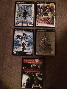 5 PlayStation 2 Games Lot