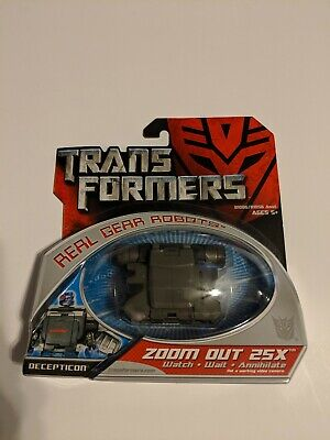 Transformers 2007 Movie Hasbro Zoom Out 25X Real Gear Robots MOSC