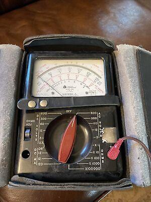 Triplett Multimeter Model 630 Type 5 Taut Band Vintage Test Meter