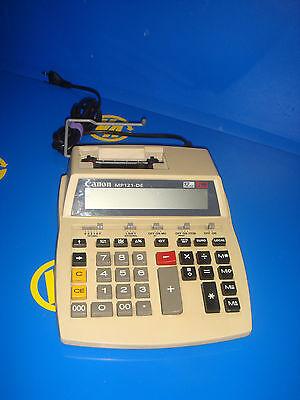 calculadora vintage CANON modelo MP121- DE buen estado coleccionismo