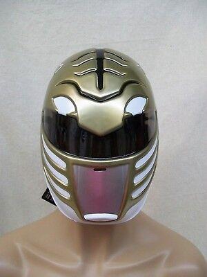 Adult White Ranger Costume Face Mask Bot Mighty Morphin Licensed Power Rangers](Power Ranger Adult)