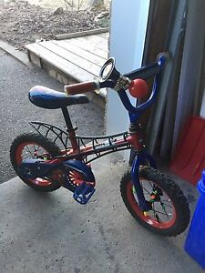Spider-Man toddler bike