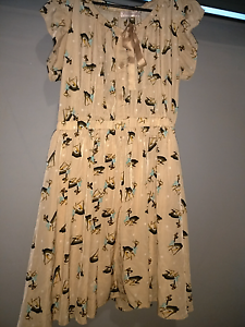 Deer dress, preppy, hipster, cute. Plus size 14 16 Semaphore Port Adelaide Area Preview