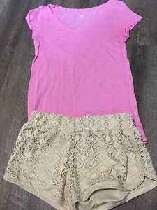 10 PIECES OF GIRLS CLOTHING SIZES *12-14//(5)