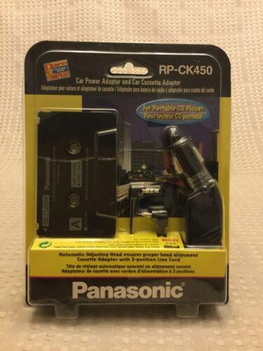 Panasonic RP-CK450 Car Cigarette Power Adaptor and Stereo Cassette Adapter New