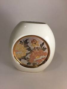 Chokin vase 24kt gold Cannington Canning Area Preview