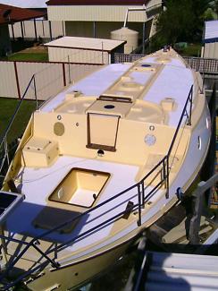 Benford dory badger junk rig yacht 34ft blue water live aboard