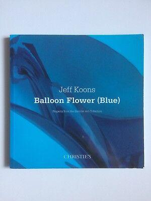 JEFF KOONS, 'Balloon Flower' (blue) single lot auction catalogue, 2010
