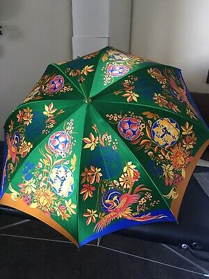 GIANNI VERSACE  New Authentic Umbrella . Silk Box Slight/ Damaged Due To Storage