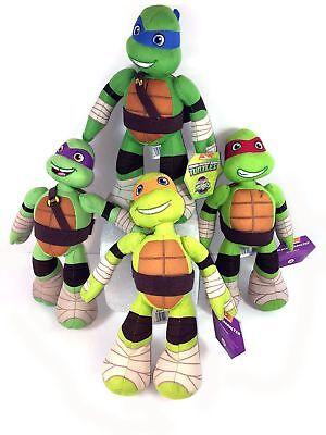 """Teenage Mutant Ninja Turtles 9"""" Plush Character Toy 4 ASST"""