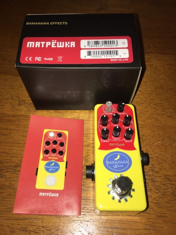 Bananana Effects Matpewka Bass Synth Pedal