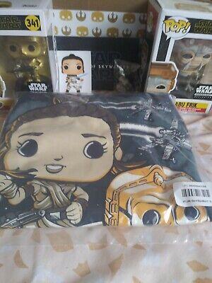 FUNKO STAR WARS Smuggler's Bounty Box Rise of Skywalker Shirt XL POP! New 5pc