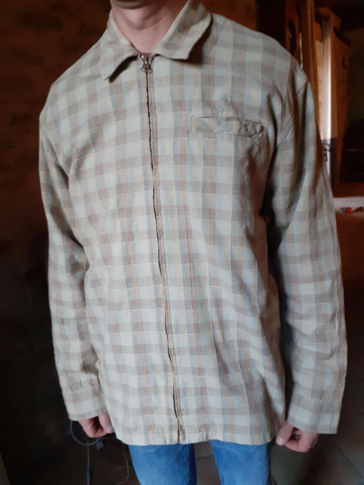 Chemise surchemise à carreaux homme taille l jules
