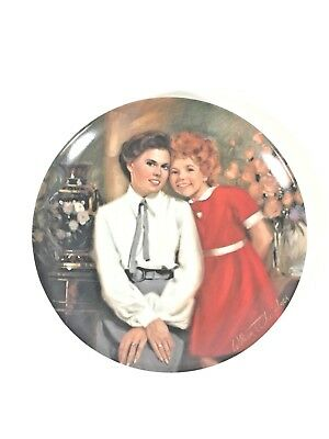 Knowles Annie And Grace Collector Plate 3rd Issue Annie Series 1983 Steve -