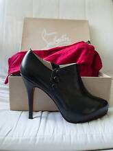 Christian Louboutin black/red short boot, new condition Rowville Knox Area Preview