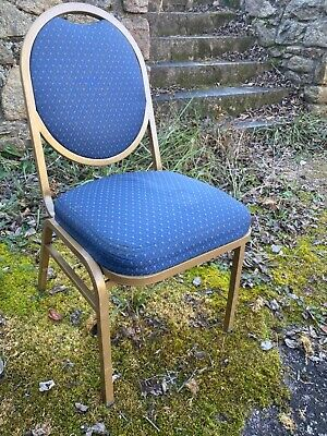 109 Uphholstered Stack Chairs Thick Cloth Seats Hi-quality Good Condition