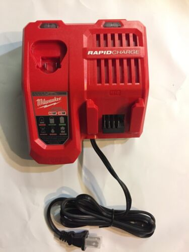 Milwaukee Genuine 48-59-1808 M18 M12 volt Lithium Rapid Charger BRAND NEW