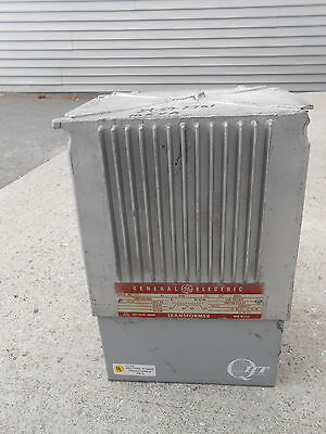 General Electric Qht 9t21b1021 G2 10kva 120v - 600v Transformer
