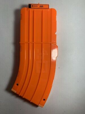 Nerf N-Strike Elite 10 Round Curved Banana Clip Magazine for Darts 10""