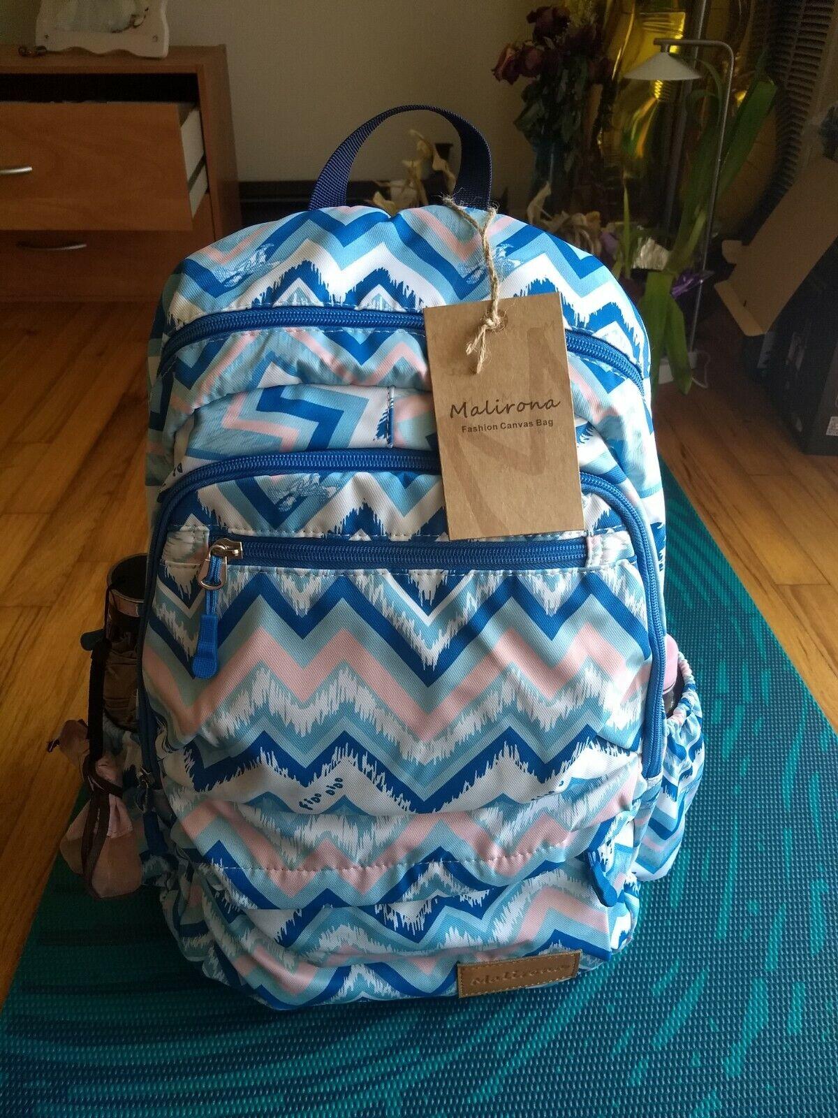 fashion womens casual waterproof bluetravel backpack school