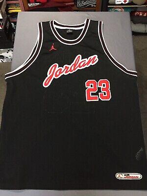 8e302909b66d5 Vintage Air Jordan Brand Michael Jordan Jersey Sz XXL 2XL Sewn Stitched VTG  EUC