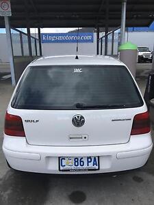 2004 Volkswagen Golf Hatchback Hobart CBD Hobart City Preview