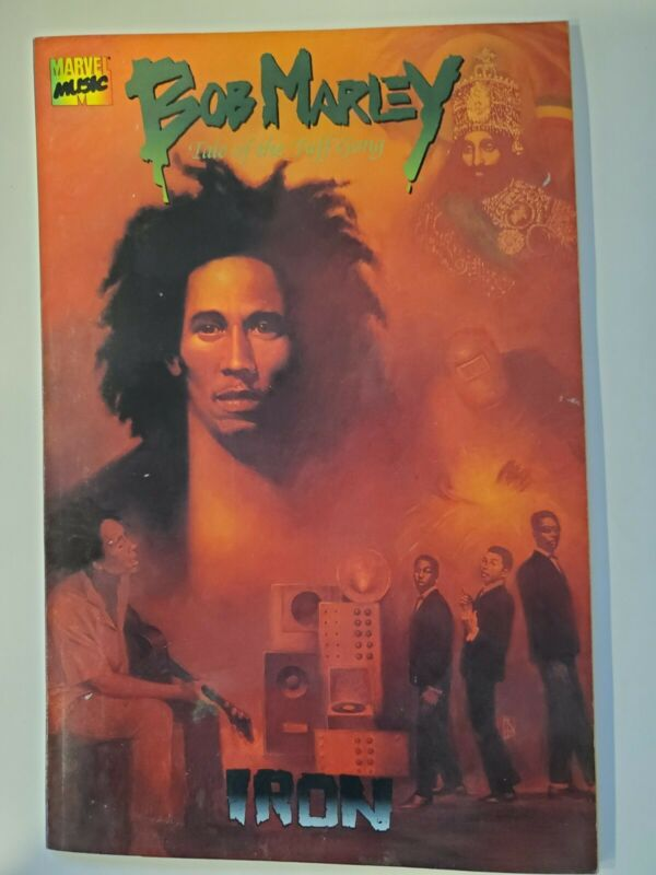Bob Marley Tale of the Tuff Gong #1 Iron (1994, Marvel Music)