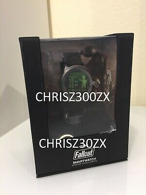 Fallout Smartwatch Pip Boy OS Wrist Watch + Light Display Screen iPhone Android