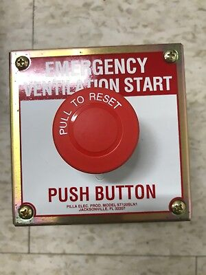 Emergency Stop Button With Enclosure