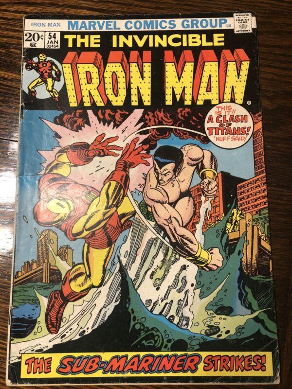 Iron Man #54, 1st Appearance Moondragon; Namor Appearance