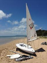 Laser with 4.7m and standard rig plus launch dolly Sorrento Mornington Peninsula Preview