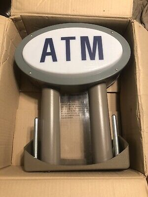 Tranax Atm Machine Lighted Sign Topper