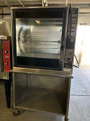 Henny Penny Scr-8 Commercial Electric Rotisserie Oven 208v 3 Ph