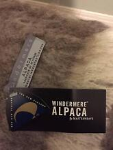 BRAND NEW Windermere 100% Alpaca blanket (Pumice), Made in NZ Brunswick Moreland Area Preview