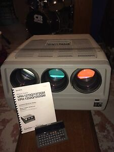 Sony VPH-1252Q CRT projector Kitchener / Waterloo Kitchener Area image 1